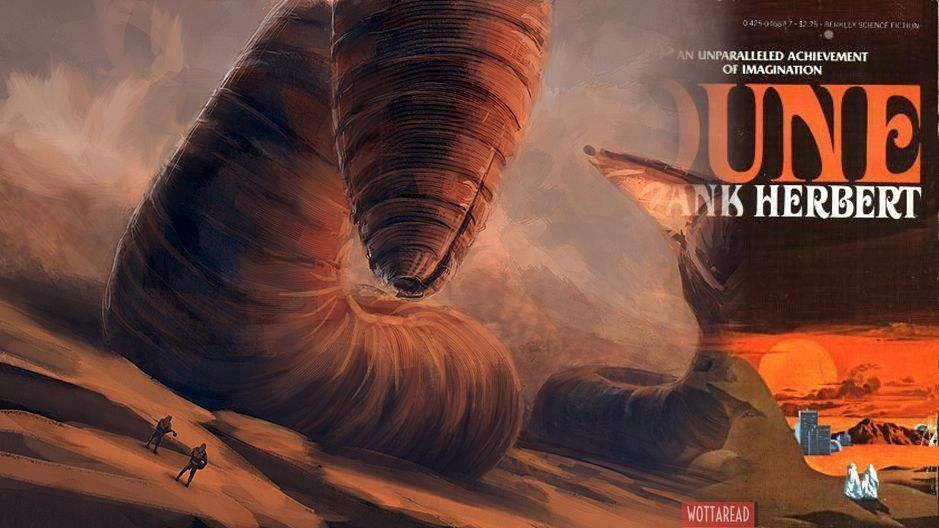 Sandwormd and Dune book cover