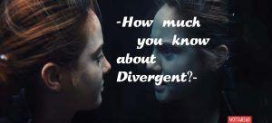 Divergent quiz trivia