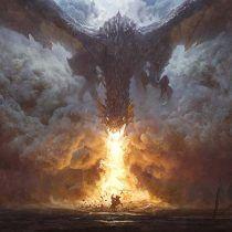 Dragon breaths fire