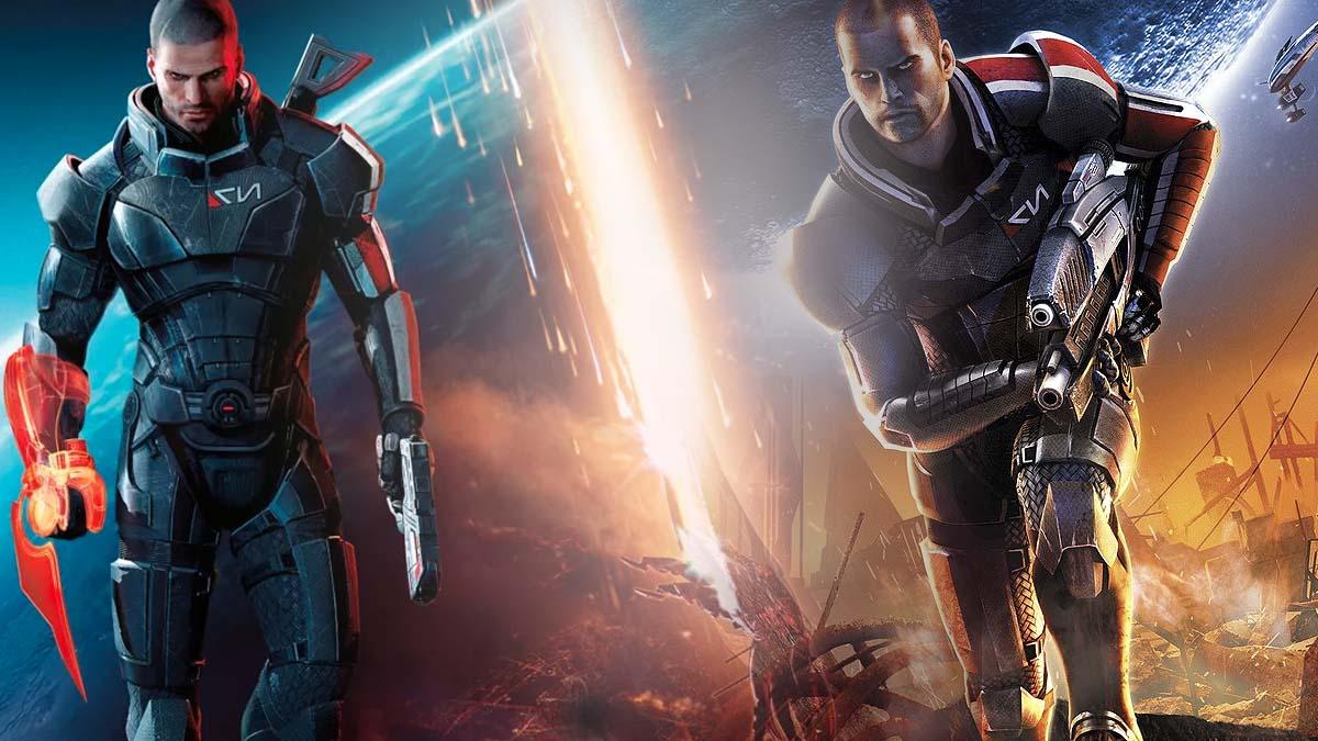 Mass Effect book order