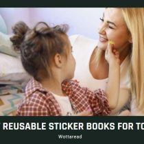 The best reusable sticker books for toddlers