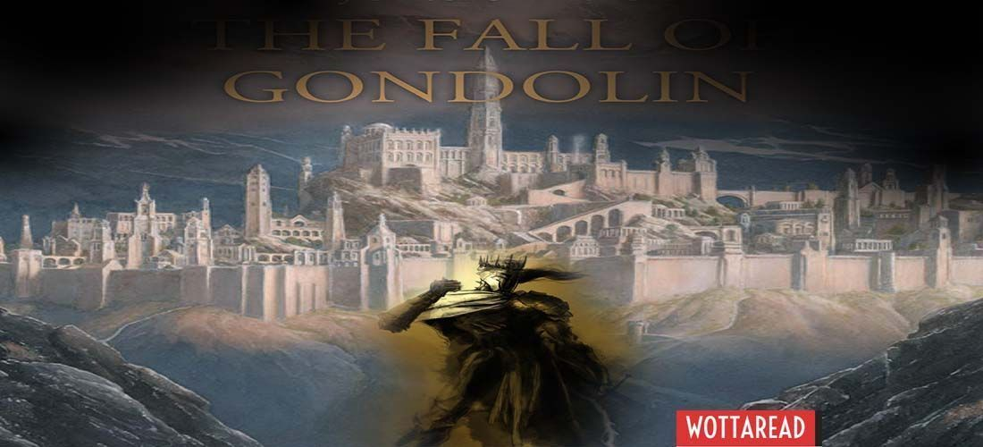 The fall of Gondolin wallpaper