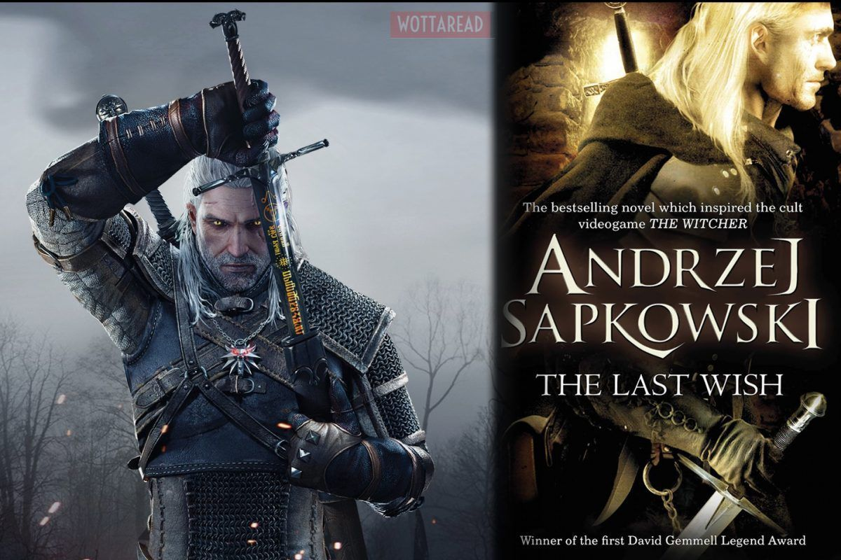 The witcher book and videogame