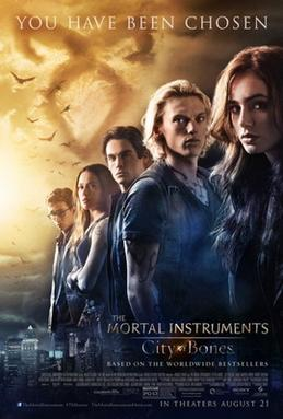 mortal instruments movie poster