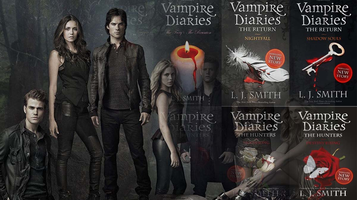 Vampire Diaries books in order a list with all the novels ...