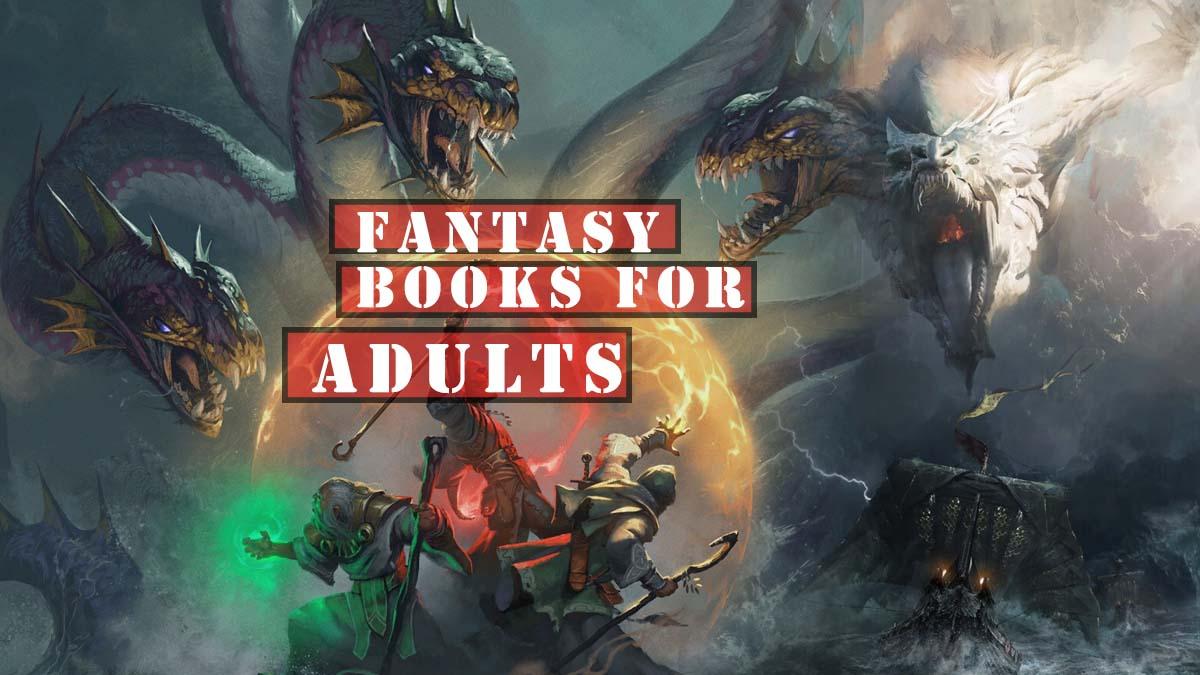 adult fantasy books