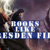 books like Dresden Files