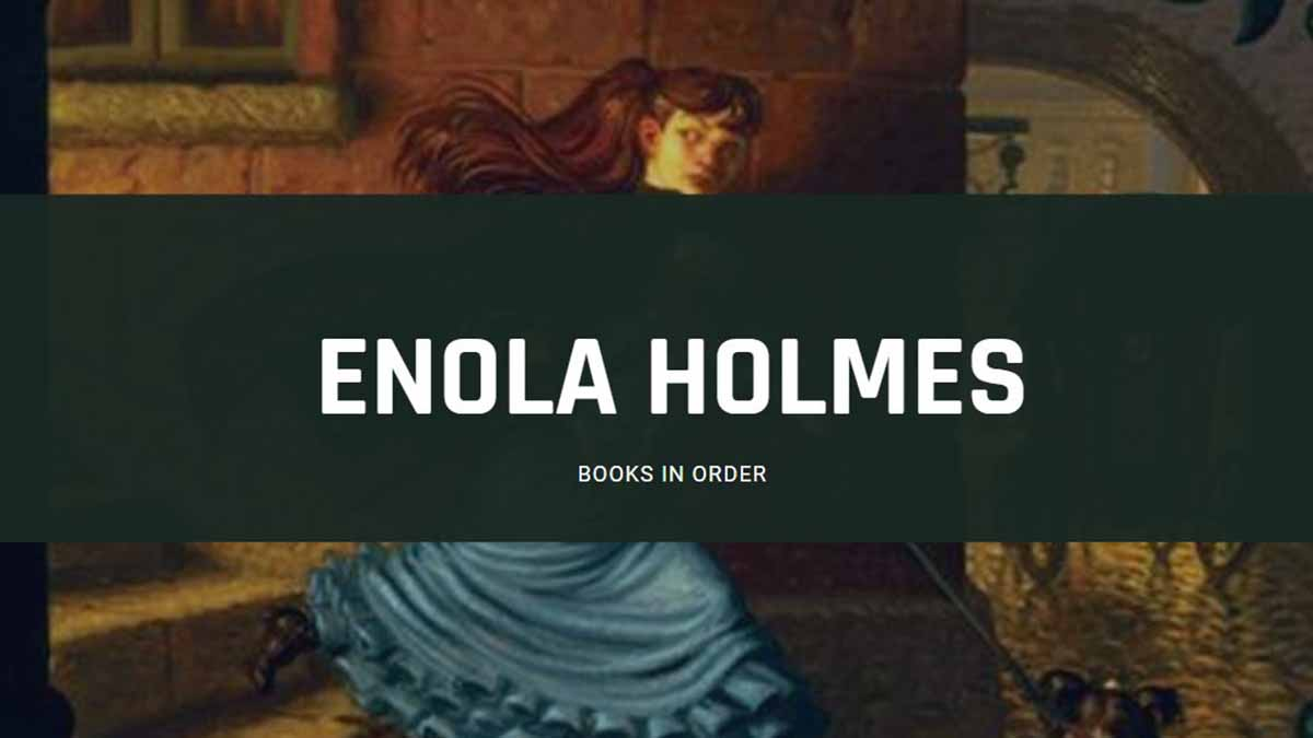 enola holmes books in order