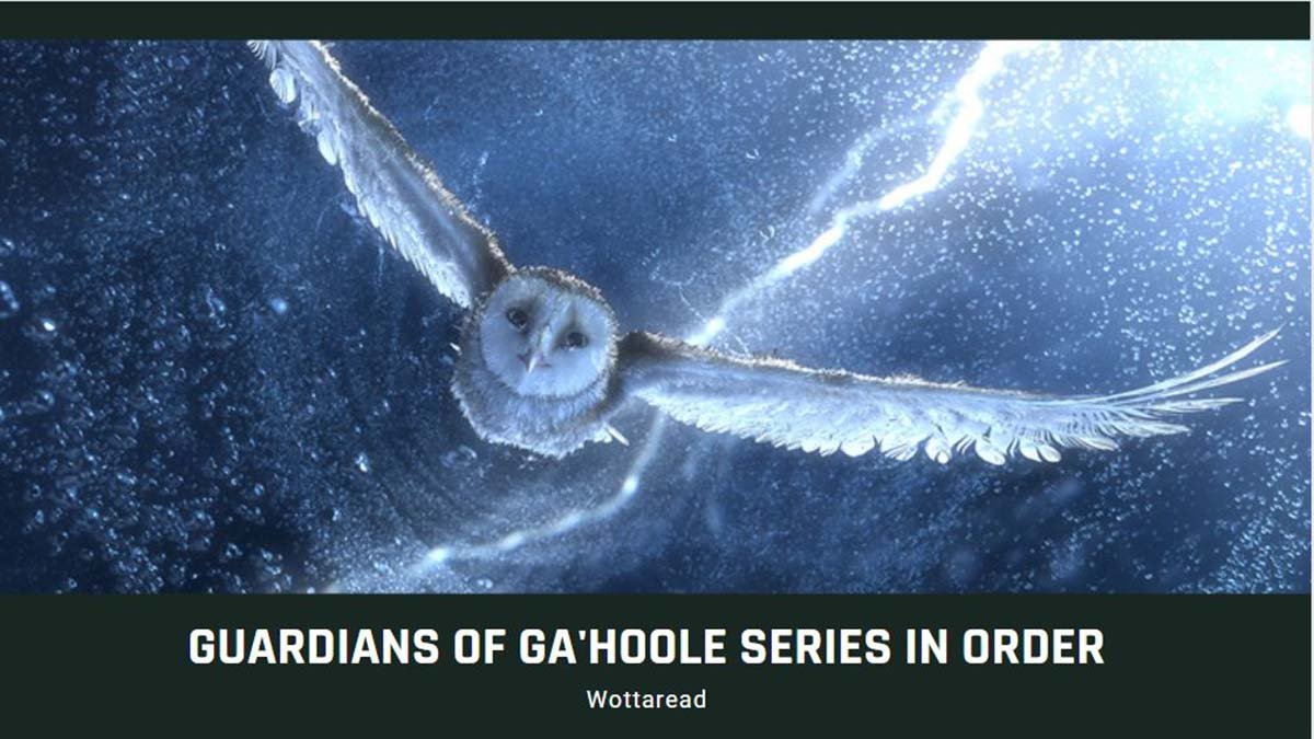 guardians of ga'hoole books in order