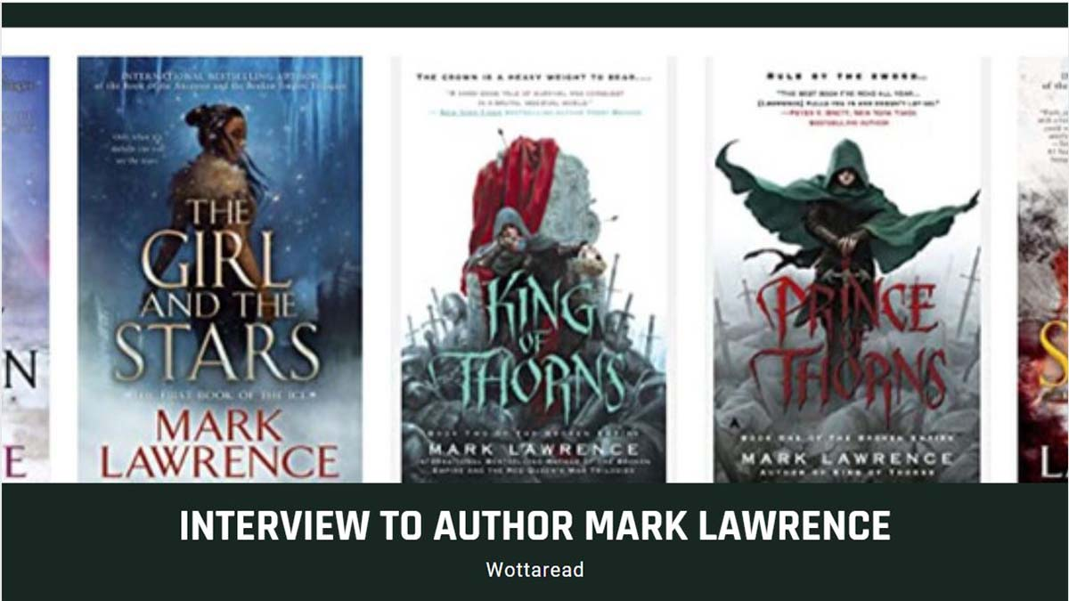 mark lawrence interview