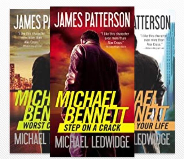 michael bennett books in order