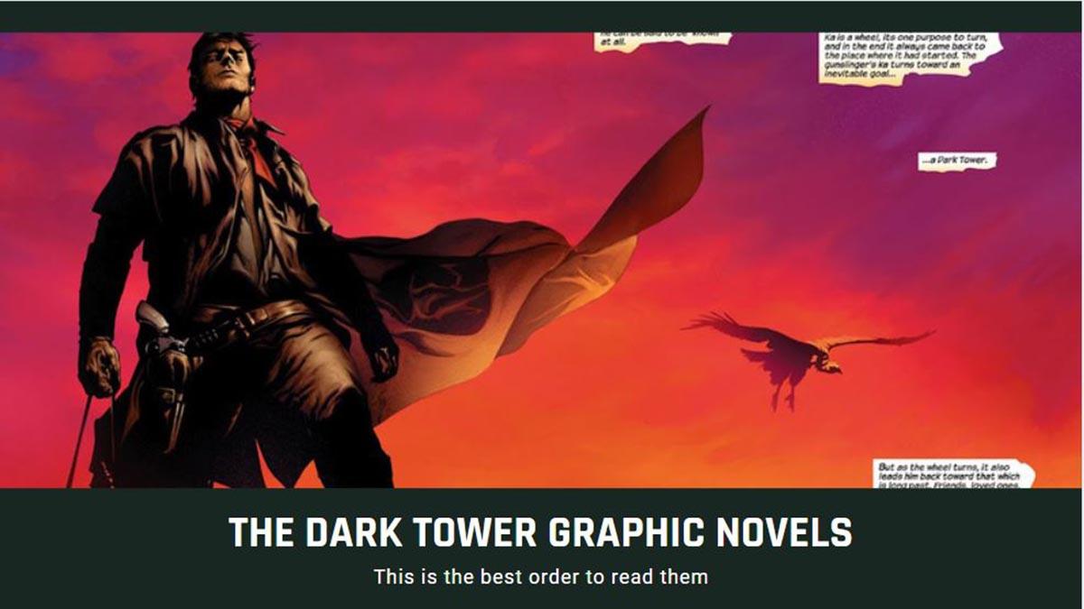 the dark tower graphic novel reading order