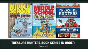 treasure hunters book series order